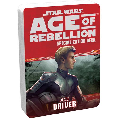 Star Wars: Age of Rebellion RPG - Specialization Deck: Driver