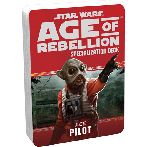Star Wars: Age of Rebellion RPG - Specialization Deck: Pilot