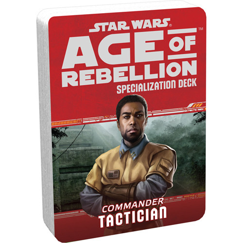 Star Wars: Age of Rebellion RPG - Specialization Deck: Tactician