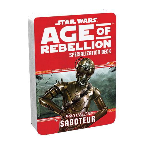 Star Wars: Age of Rebellion RPG - Specialization Deck: Saboteur