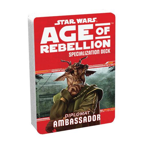 Star Wars: Age of Rebellion RPG - Specialization Deck: Ambassador