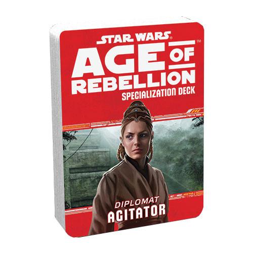 Star Wars: Age of Rebellion RPG - Specialization Deck: Agitator
