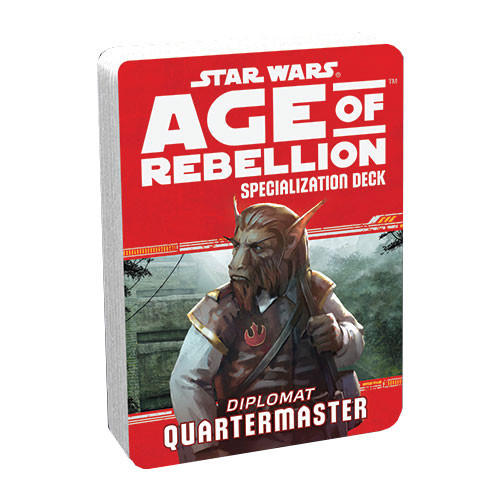 Star Wars: Age of Rebellion RPG - Specialization Deck: Quartermaster