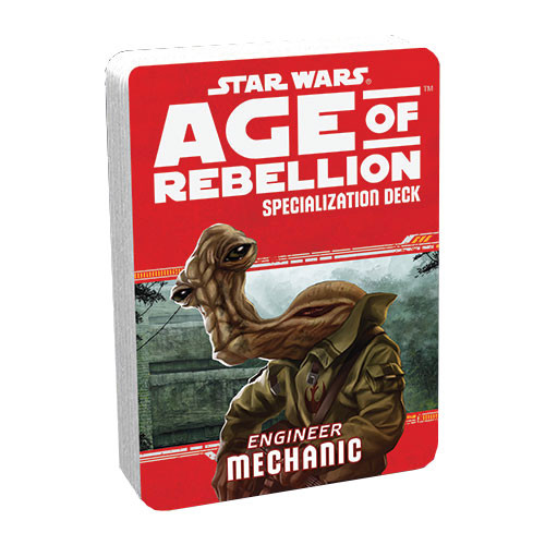 Star Wars: Age of Rebellion RPG - Specialization Deck: Mechanic