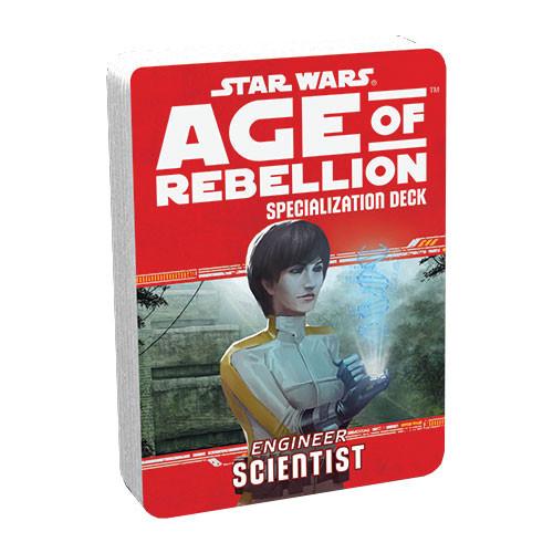 Star Wars: Age of Rebellion RPG - Specialization Deck: Scientist