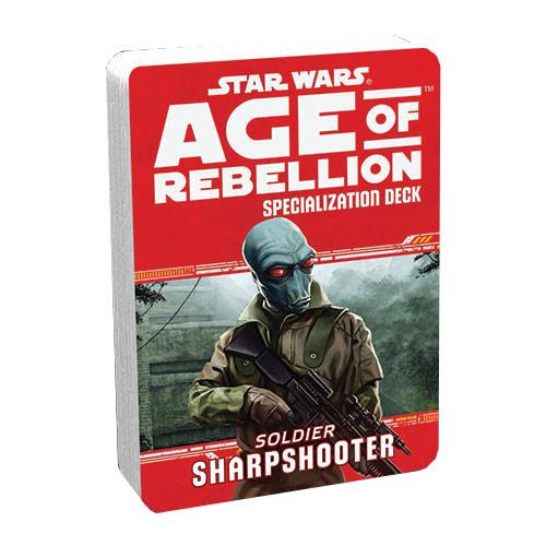 Star Wars: Age of Rebellion RPG - Specialization Deck: Sharpshooter