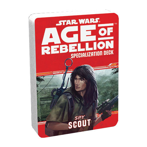 Star Wars: Age of Rebellion RPG - Specialization Deck: Scout