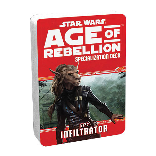 Star Wars: Age of Rebellion RPG - Specialization Deck: Infiltrator