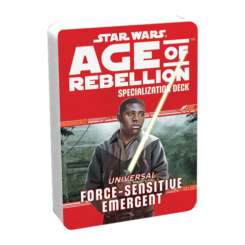 Age of Rebellion RPG: Specialization Deck - Force-Sensitive Emergent