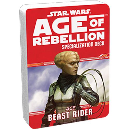 Star Wars: Age of Rebellion RPG - Specialization Deck: Beast Rider