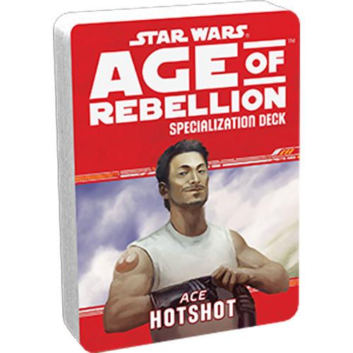 Star Wars: Age of Rebellion RPG - Specialization Deck: Hotshot