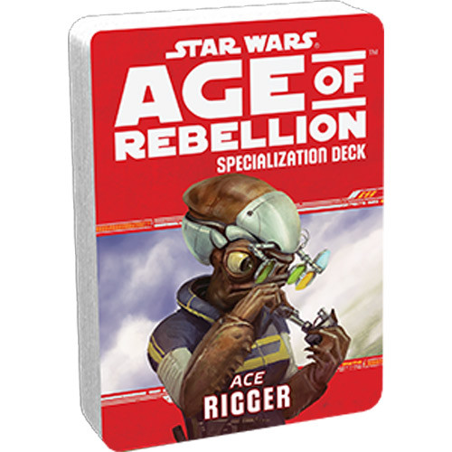 Star Wars: Age of Rebellion RPG - Specialization Deck: Rigger