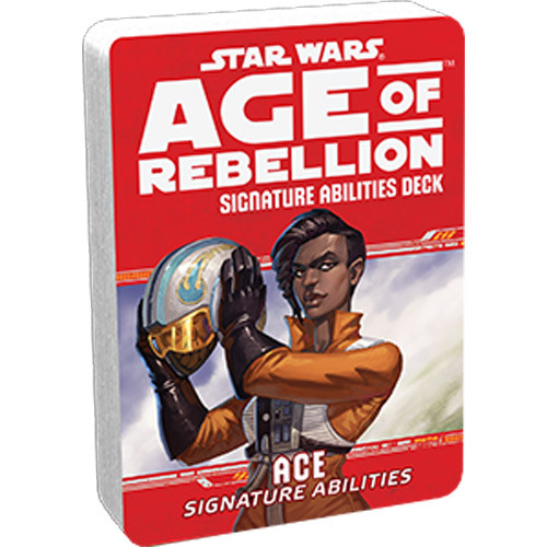 Star Wars: Age of Rebellion RPG - Signature Abilities Deck: Ace