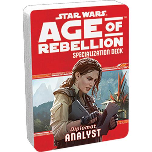 Star Wars: Age of Rebellion RPG - Specialization Deck: Analyst