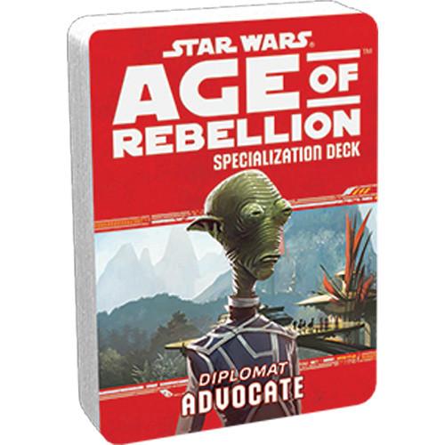 Star Wars: Age of Rebellion RPG - Specialization Deck: Advocate