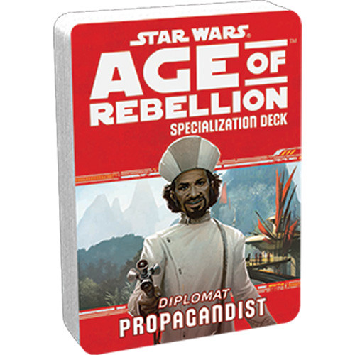 Star Wars: Age of Rebellion RPG - Specialization Deck: Propagandist