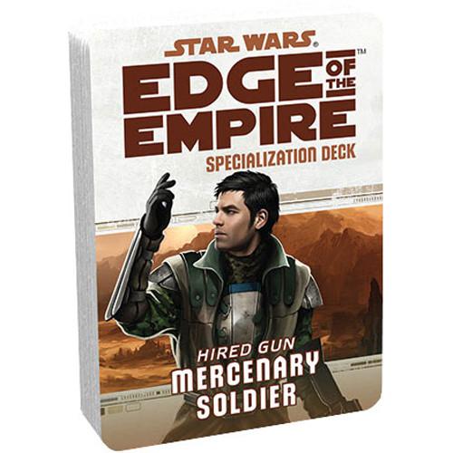 Star Wars: Edge of the Empire RPG - Specialization Deck: Mercenary
