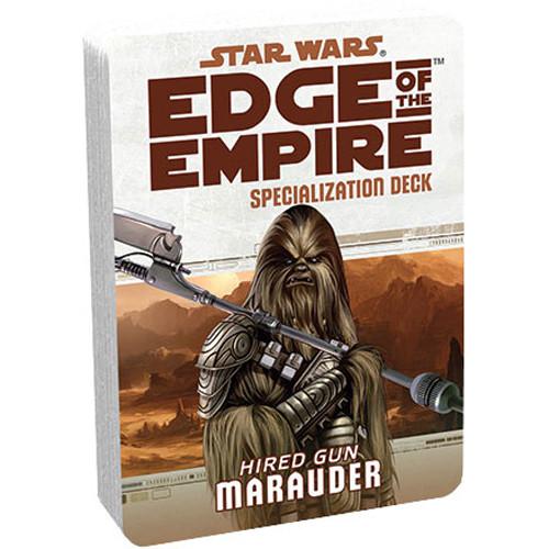 Star Wars: Edge of the Empire RPG - Specialization Deck: Marauder