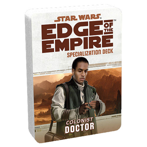 Star Wars: Edge of the Empire RPG - Specialization Deck: Doctor