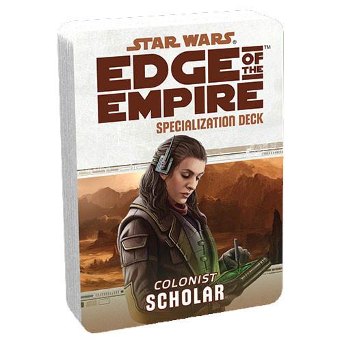 Star Wars: Edge of the Empire RPG - Specialization Deck: Scholar