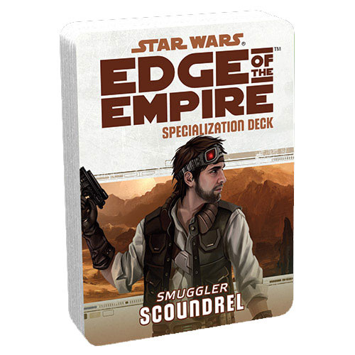 Star Wars: Edge of the Empire RPG - Specialization Deck: Scoundrel