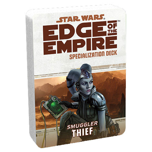Star Wars: Edge of the Empire RPG - Specialization Deck: Thief