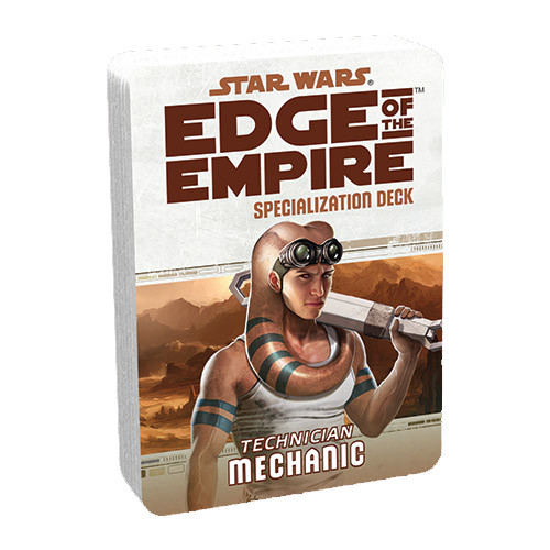 Star Wars: Edge of the Empire RPG - Specialization Deck: Mechanic