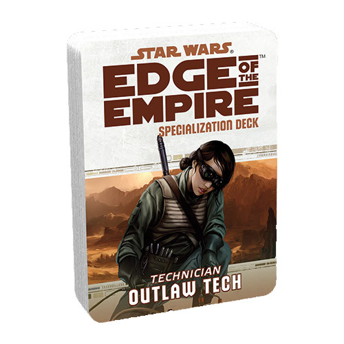 Star Wars: Edge of the Empire RPG - Specialization Deck: Outlaw Tech