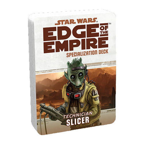 Star Wars: Edge of the Empire RPG - Specialization Deck: Slicer