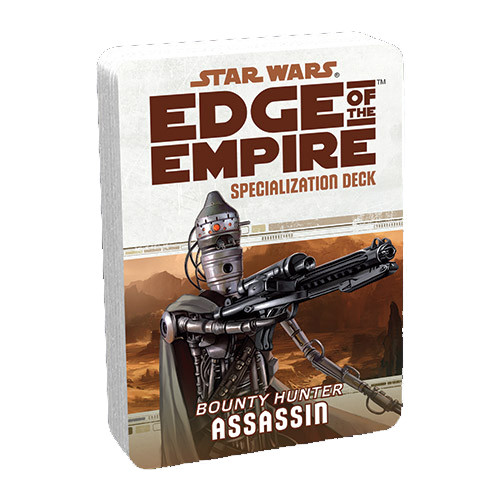 Star Wars: Edge of the Empire RPG - Specialization Deck: Assassin