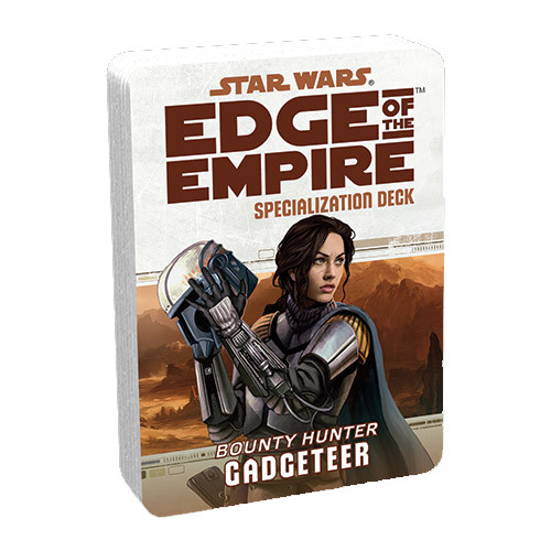 Star Wars: Edge of the Empire RPG - Specialization Deck: Gadgeteer
