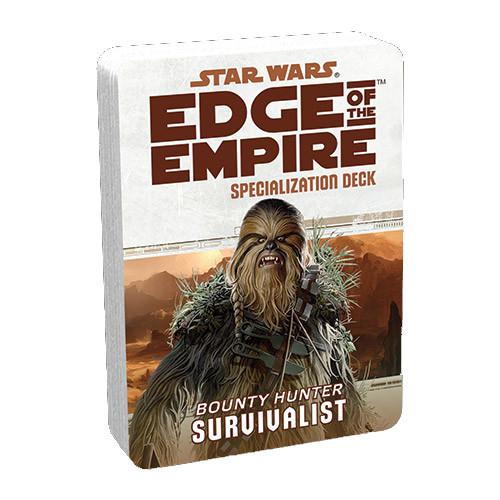 Star Wars: Edge of the Empire RPG - Specialization Deck: Survivalist