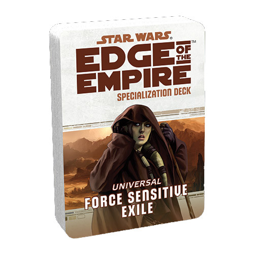 Star Wars: Edge of the Empire RPG - Specialization Deck: Force Exile