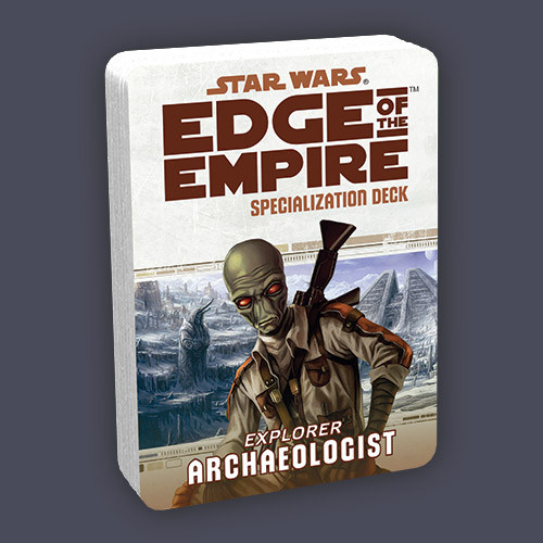 Star Wars: Edge of the Empire RPG - Specialization Deck: Archaeologist
