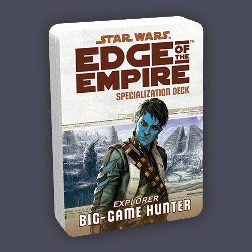 Star Wars: Edge of the Empire RPG Specialization Deck: Big-Game Hunter