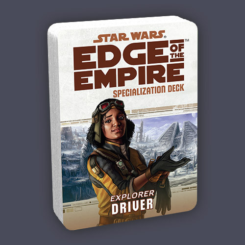 Star Wars: Edge of the Empire RPG - Specialization Deck: Driver