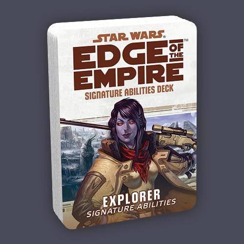 Edge of the Empire RPG Signature Abilities Deck Explorer