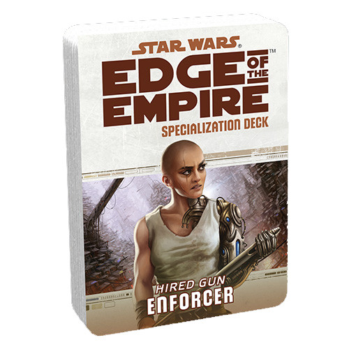 Star Wars: Edge of the Empire RPG - Specialization Deck: Enforcer