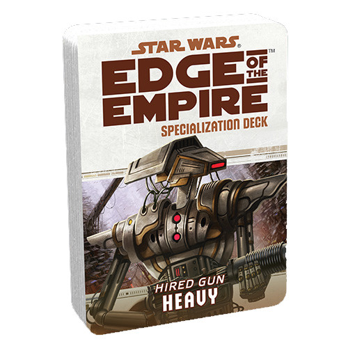 Star Wars: Edge of the Empire RPG - Specialization Deck: Heavy