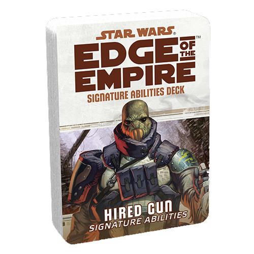Star Wars: Edge of the Empire RPG - Signature Abilities Deck: Hired Gun