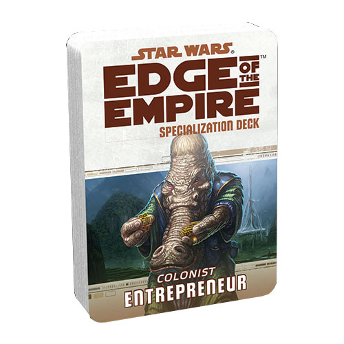 Star Wars: Edge of the Empire RPG - Specialization Deck: Entrepreneur
