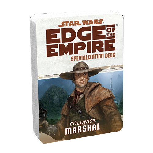 Star Wars: Edge of the Empire RPG - Specialization Deck: Marshal