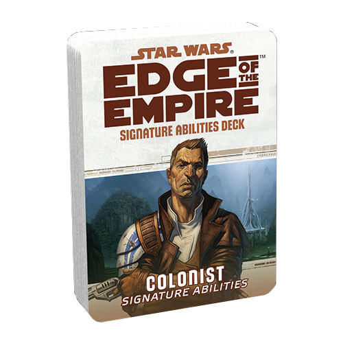 Star Wars: Edge of the Empire RPG - Signature Abilities Deck: Colonist