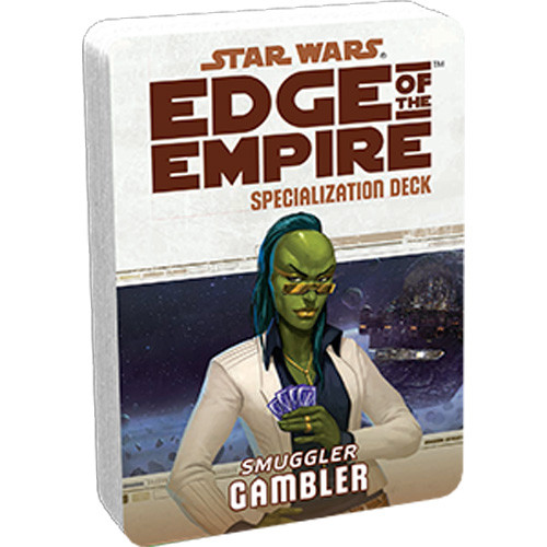 Star Wars: Edge of the Empire RPG - Specialization Deck: Gambler