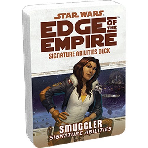 Star Wars: Edge of the Empire RPG - Signature Abilities Deck: Smuggler
