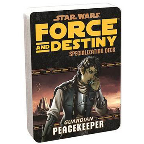 Star Wars: Force and Destiny RPG - Specialization Deck: Peacekeeper