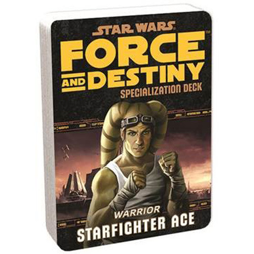 Star Wars: Force and Destiny RPG- Specialization Deck: Starfighter Ace