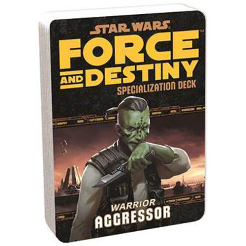 Star Wars: Force and Destiny RPG - Specialization Deck: Aggressor