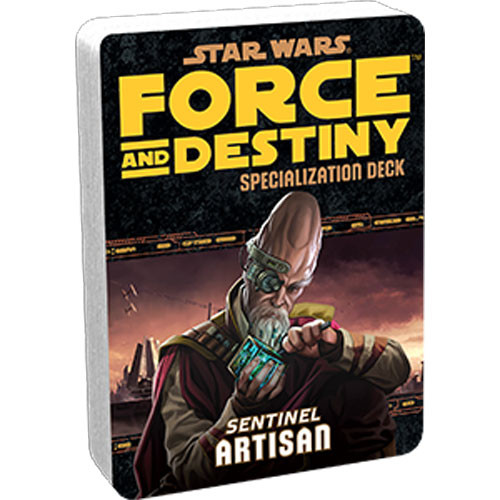 Star Wars: Force and Destiny RPG - Specialization Deck: Artisan