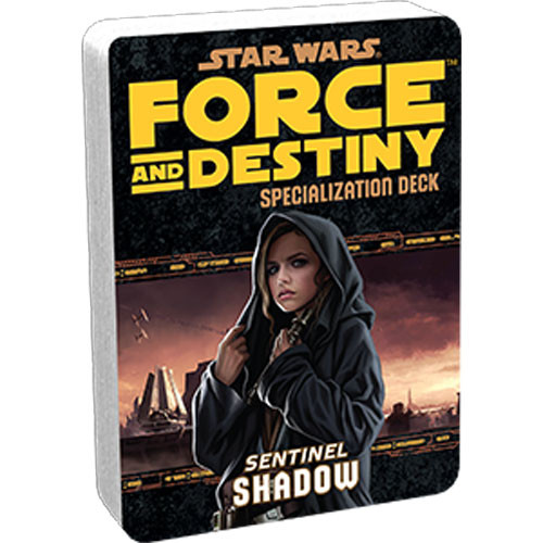 Star Wars: Force and Destiny RPG - Specialization Deck: Shadow